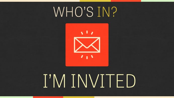 Who's In: I'm Invited Image