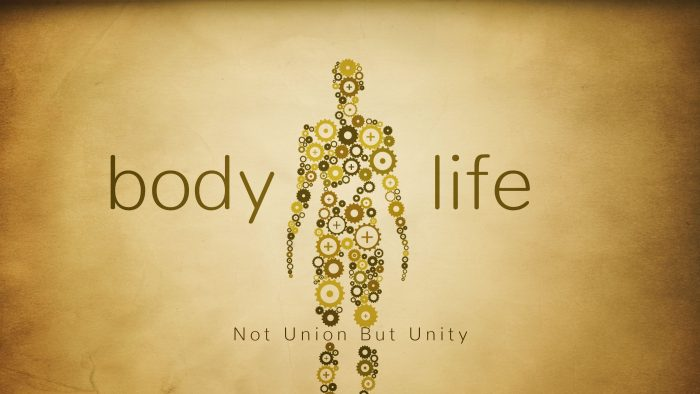 Body Life: Not Union But Unity Image